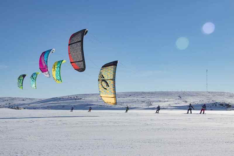 Самое масштабное соревнование сноукайтеров пройдет в Новосибирске