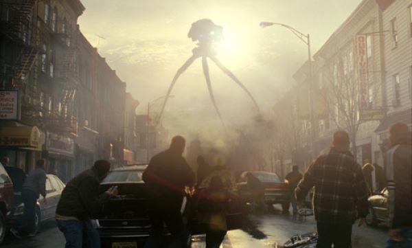 Марсианский монстр из «Войны миров» прошелся по улицам Новосибирска (видео)