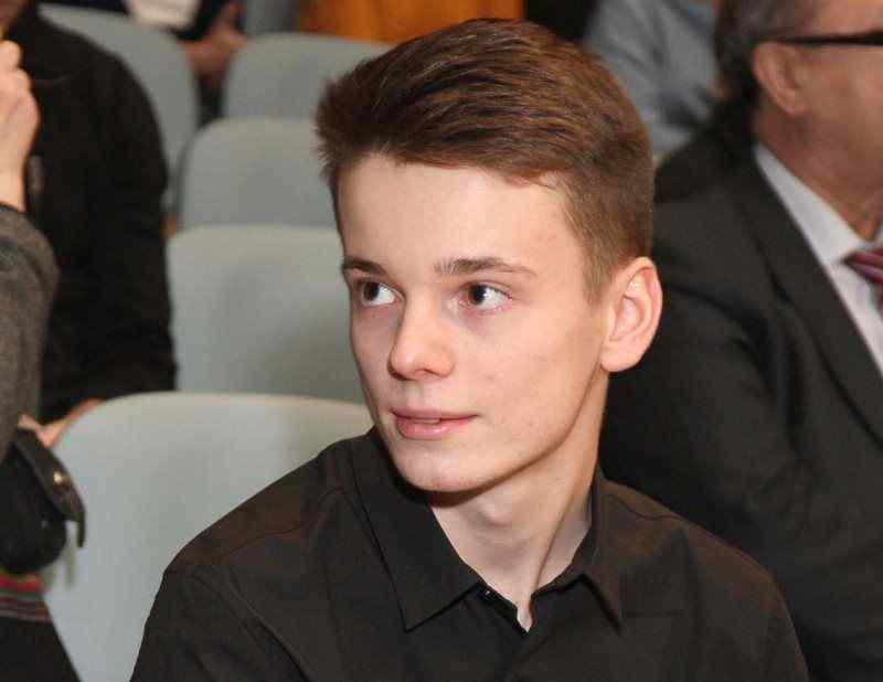 Младший сын Валерии Арсений Шульгин