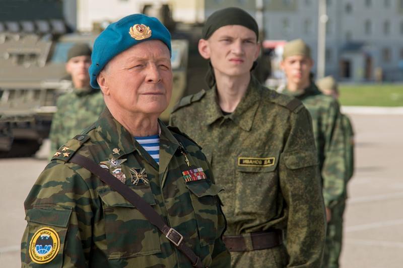 Борис Галкин вновь станет десантником Дедом в День защитника Отечества