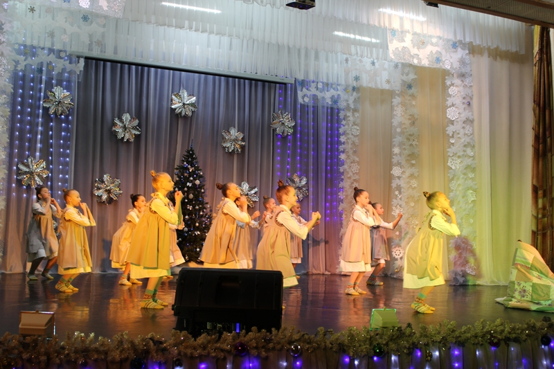 Праздничный концерт в честь Рождества Христова прошел в Пашино