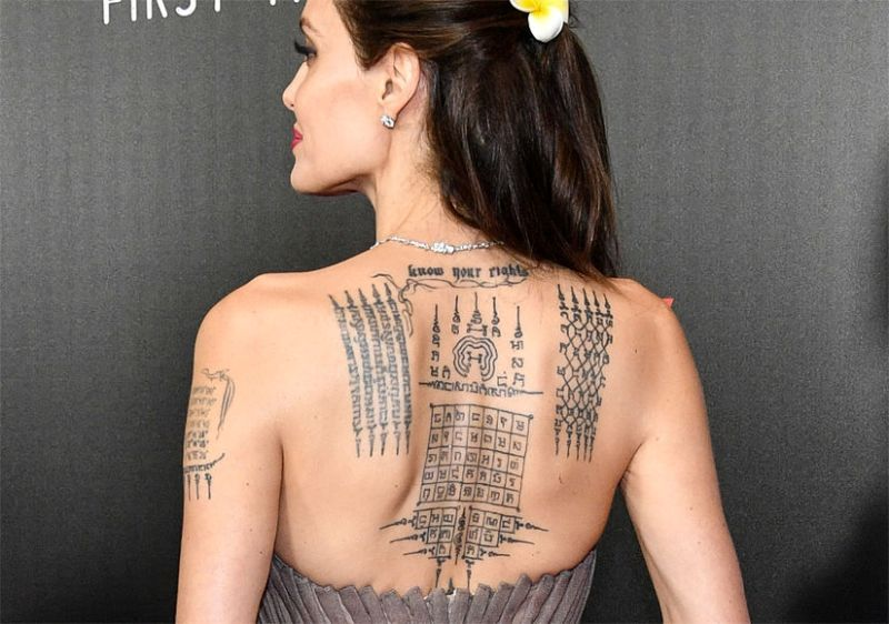 angelina jolie back tattoo 825x580